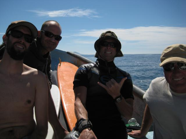 Surfing the Ranch with Binito Ponga Boat