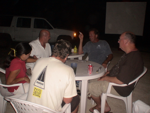 Poker Night at Rusty's Surf Villa